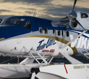 Twin Otter Amphibious Utility Airplane