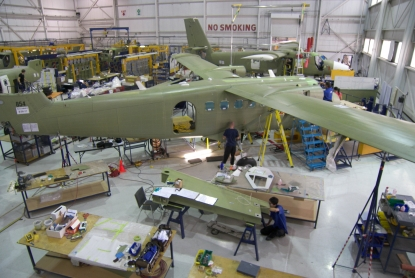 Viking develops new manufacturing tooling and parts supply chain to produce new Twin Otter Services 400 aircraft