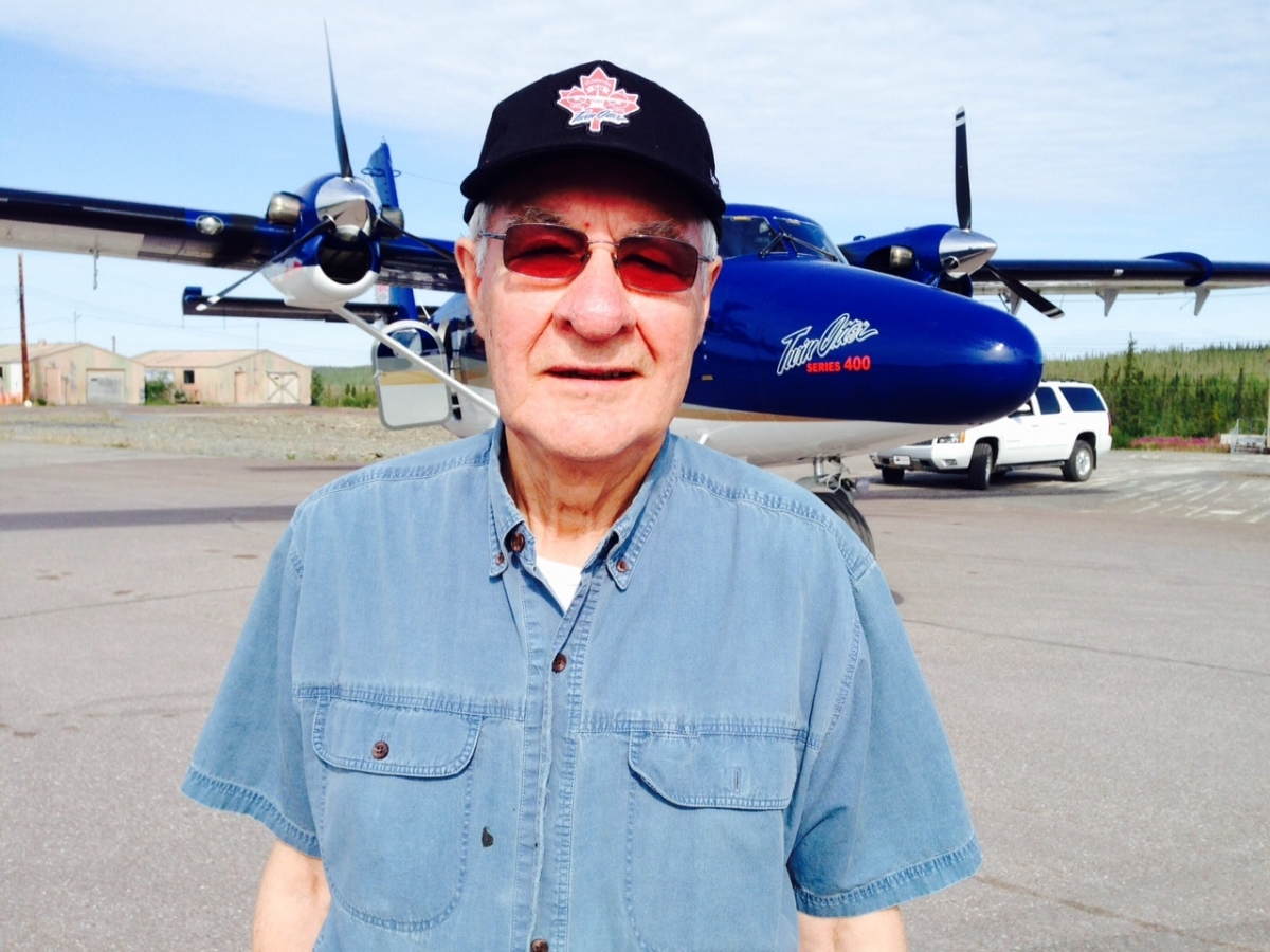 50th Anniversary Twin Otter Celebration Tour Inuvik Fred Carmichael