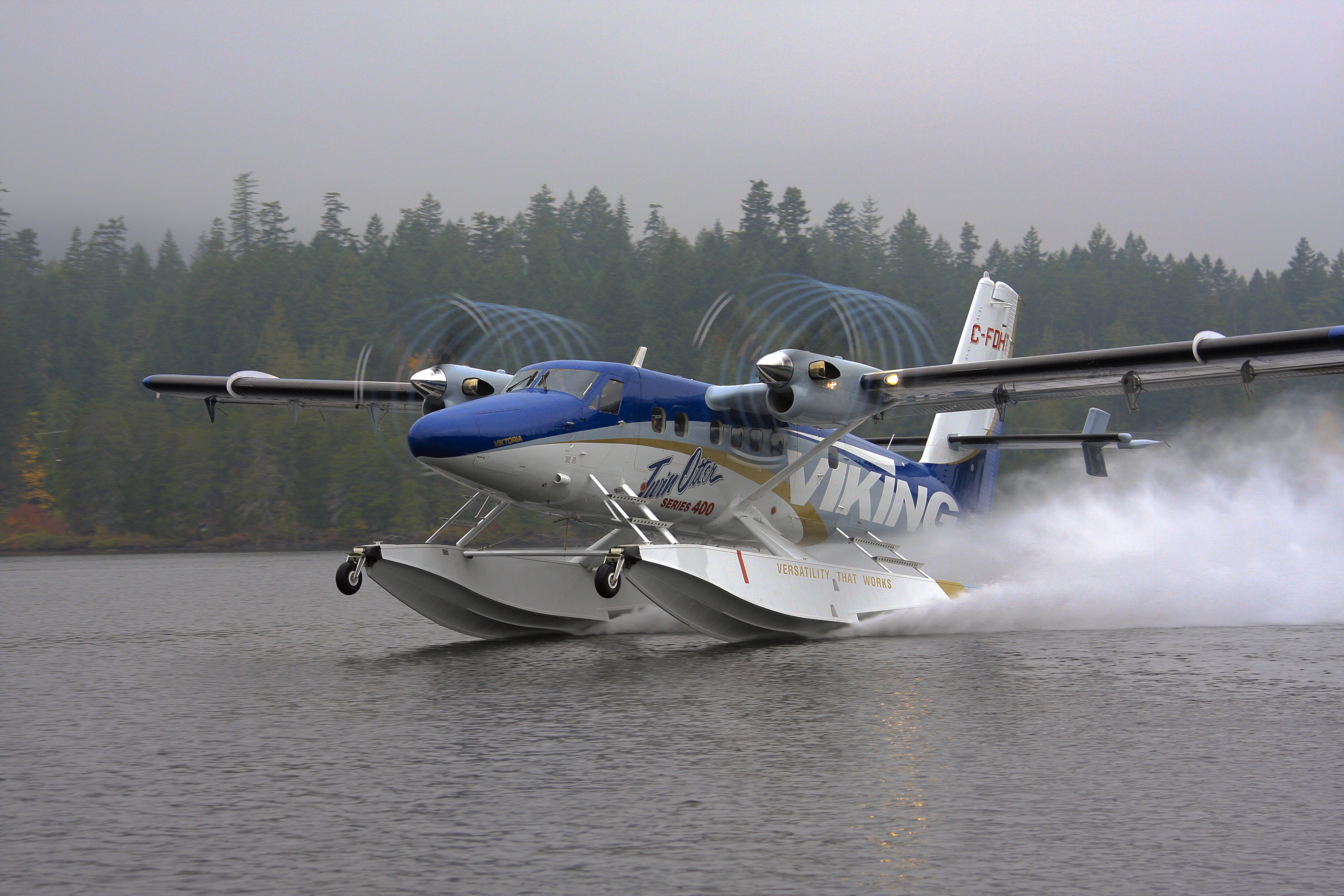 How Many Twin Otter Aircraft Has Viking Delivered