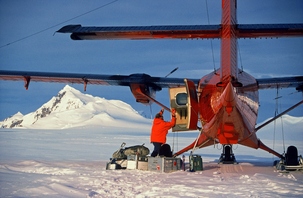 Viking Twin Otter British Antarctic Survey