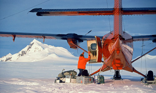 Twin Otter British Antarctic Survey