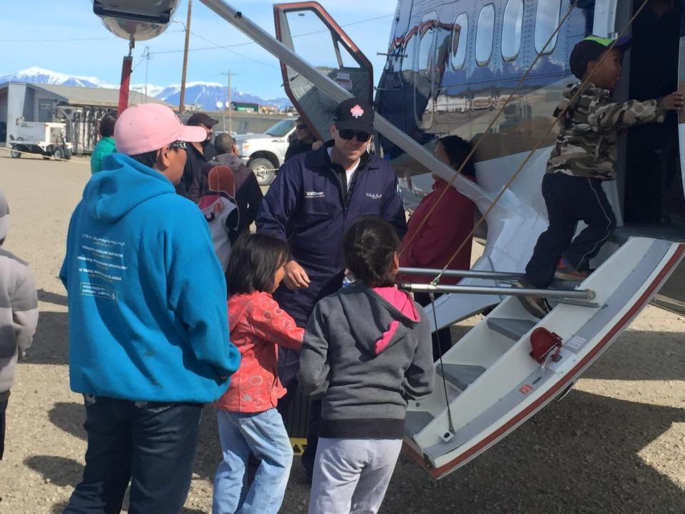 Viking Twin Otter 50th Celebration Tour Pond Inlet