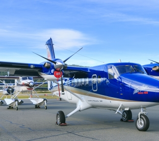 Twin Otter and Beaver