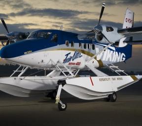 Amphibious Twin Otter Aircraft