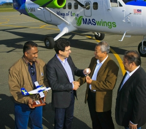 Viking Twin Otter MASwings key delivery