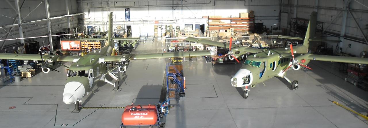 Series 400 in Final Assembly at Viking's Calgary Facility