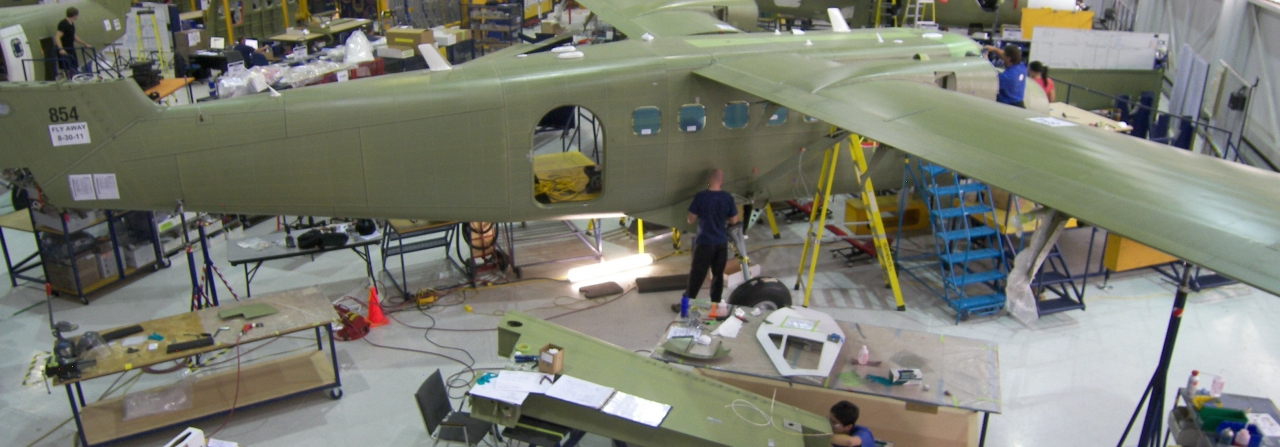 Twin Otter manufacturing