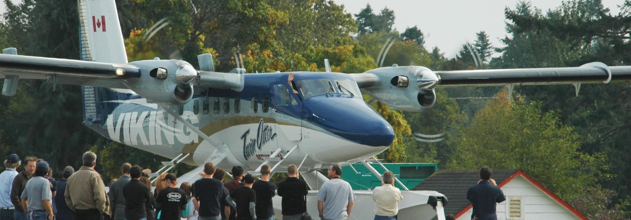 Launch of the Twin Otter Series 400 production program.