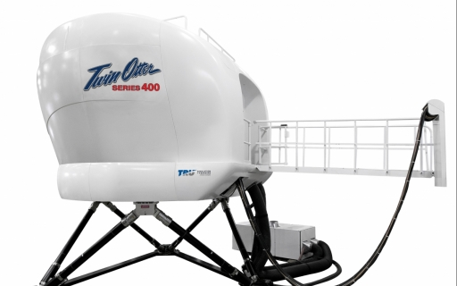 "First Twin Otter Level ""D"" Flight Simulator"