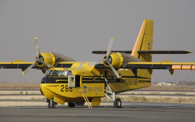 Aerial Fire Fighter CL-215
