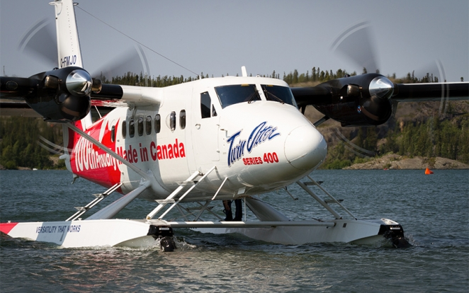 Twin Otter Series 400 - 100th aircraft in production