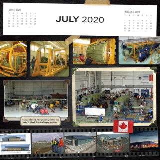 July 2020 Calendar preview