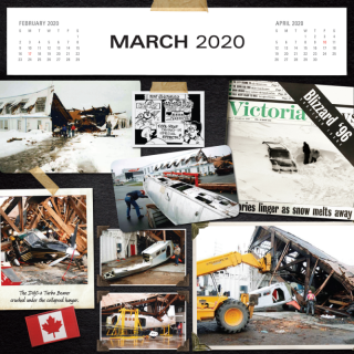 Preview of the March 2020 calendar.