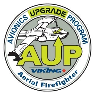 Viking Air Ltd. Avionics Upgrade Program (AUP) Logo