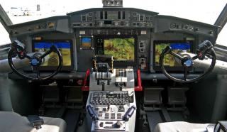 Cockpit with Avionics Upgrade Program Features