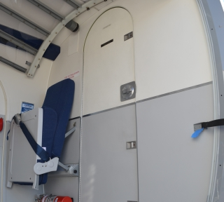 Viking Twin Otter Cargo interiors