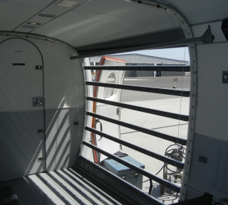 Viking Twin Otter cargo configuration interior