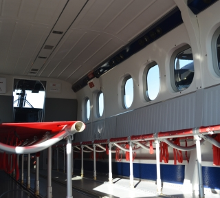 Viking Twin Otter Parachute Interior Options
