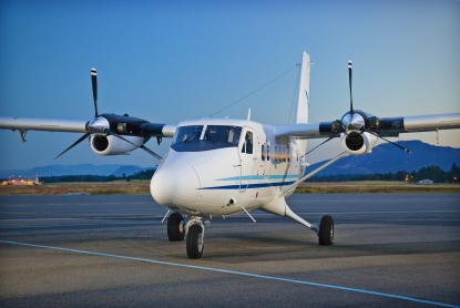 The first new-built Twin Otter in 22 years makes its initial flight.